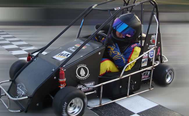 Quarter Midget Racer Products from Arrow Composites, LLC